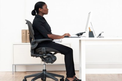 Proper Posture When Sitting in an Office Chair