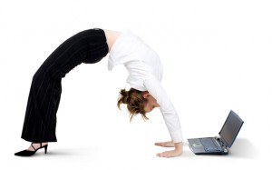 You can exercise from a home office any time you want!