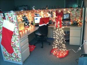 christmas office