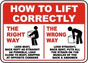 safe lifting practices