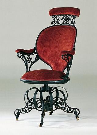 Thomas Warren Centripetal Spring Armchair