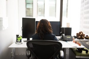 Sitting in the same area for an extended period promotes muscle tension