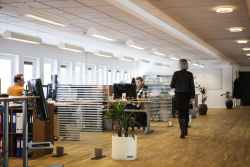 An example of a well designed, modern office