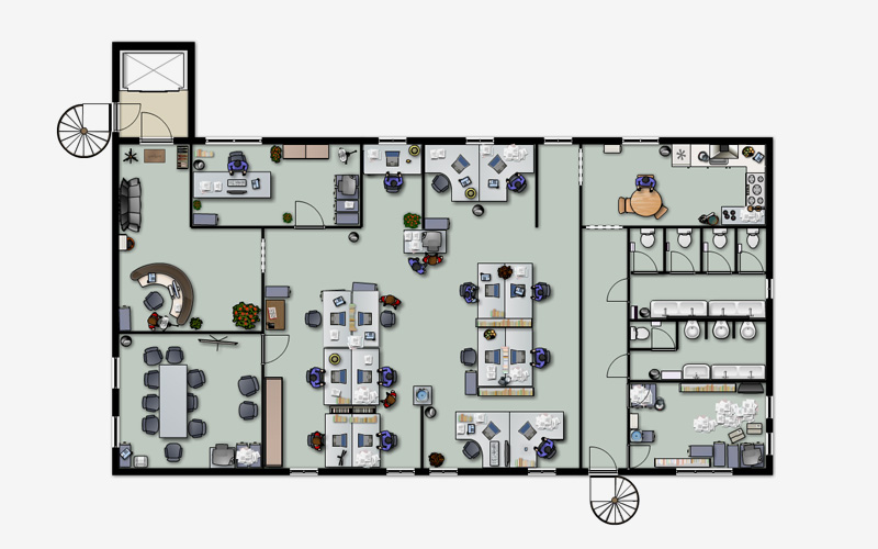 Space Plan The Office |Space Planning Office Layout