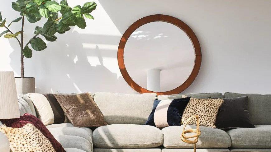 use mirrors for interior design
