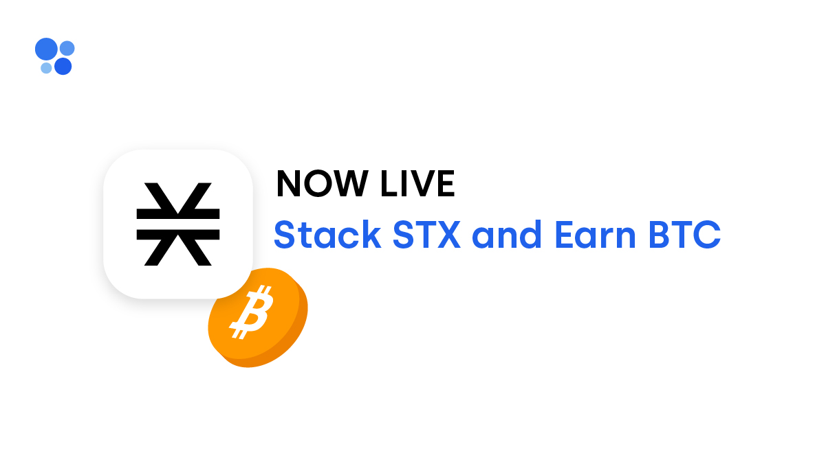 Stack STX and Earn Bitcoin on OKCoin