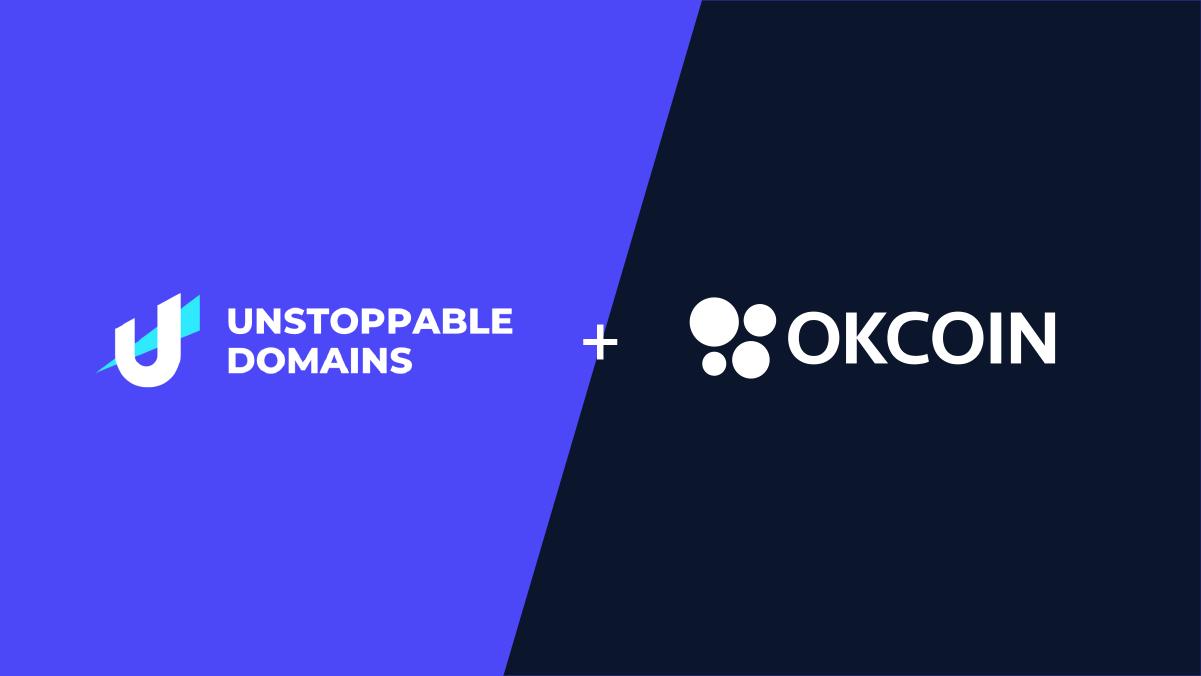 Unstoppable Domains + OKCoin
