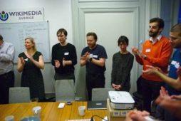 Members of OK SE in open data day. Credit: se.okfn.org