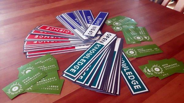open-knowledge-austria-stickers
