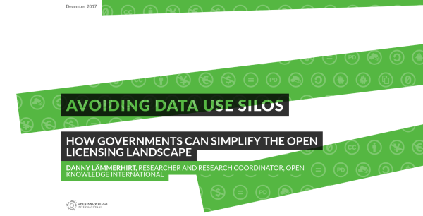 Open Knowledge Foundation research report: Avoiding data use silos