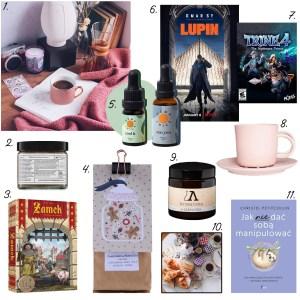 Styczeń - polecenia na blogu: kawa palarnia blend, serial Lupin, gra Zamek, gra Trine, olejki CBD Hemp Juice, Aromateka świeca, filiżanka Wende