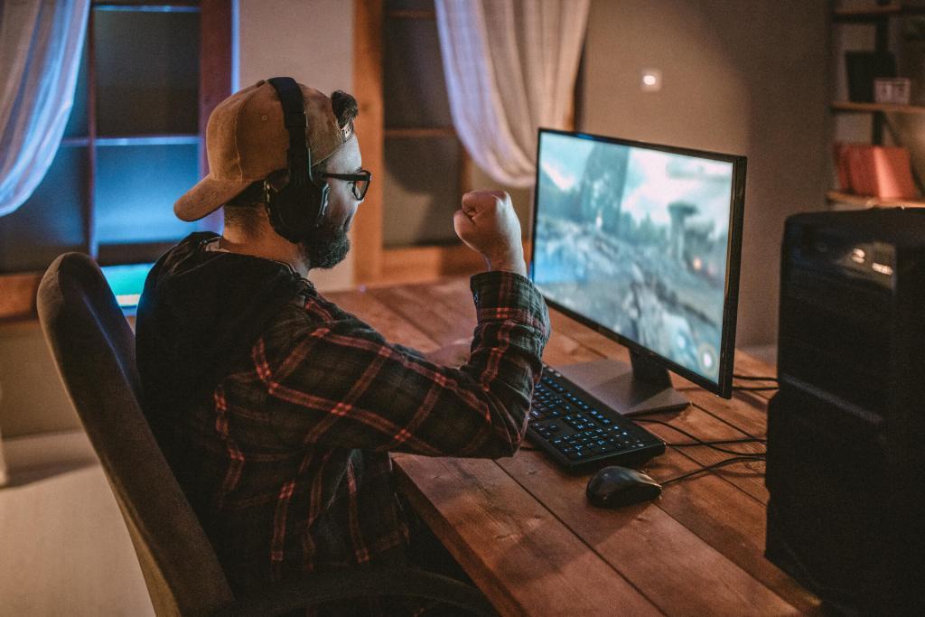 Gaming: leva a tua paixão por videojogos mais longe title
