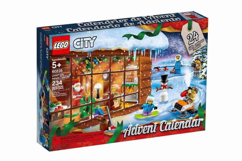 Calendário do advento LEGO