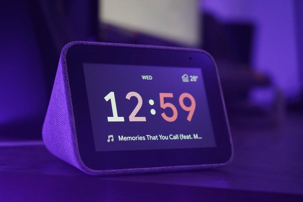 Coluna inteligente Smart Display da Lenovo