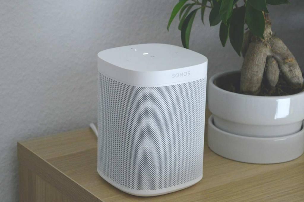 Coluna inteligente Sonos One
