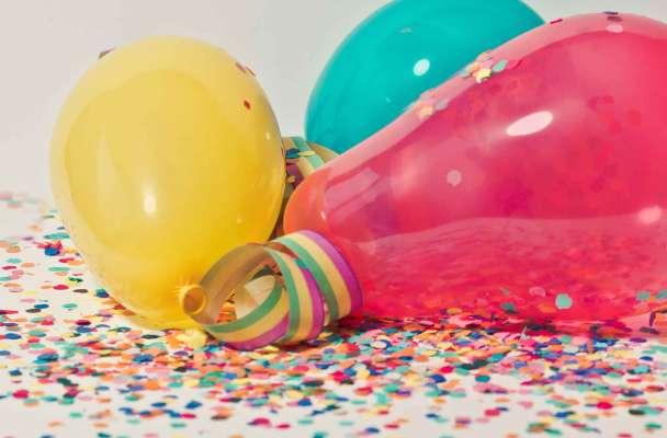 Enfeites e decoração carnaval