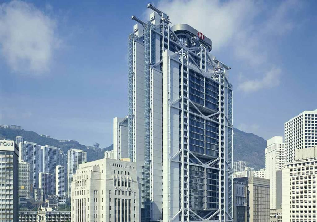 Edifício do HSBC em Hong Kong