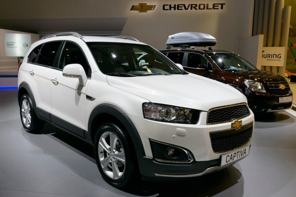 Chevrolet Captiva SUV usados OLX