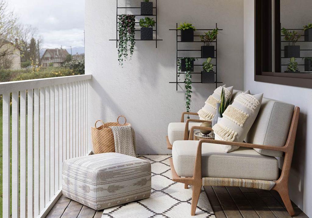 Como decorar o terraço com 50€ title