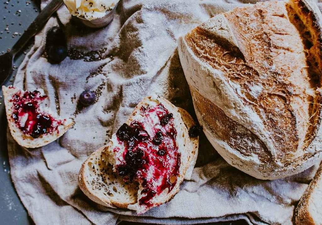 5 receitas de pão fáceis para fazer em casa title