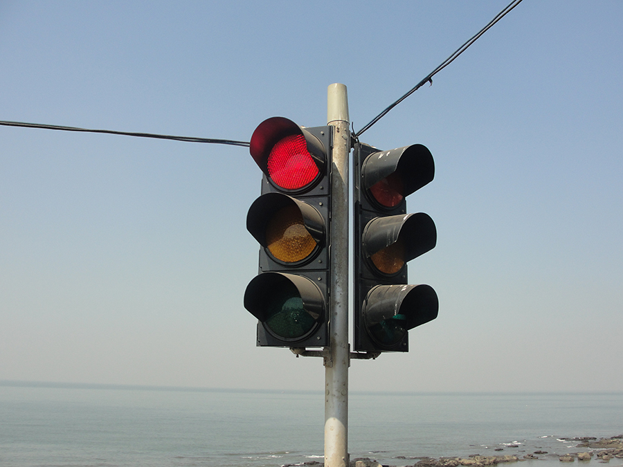 traffic lights signal