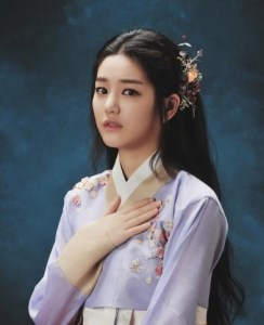 Lee Yoo Bi as Jo Yang Sun in Scholar Who Walks At Night.