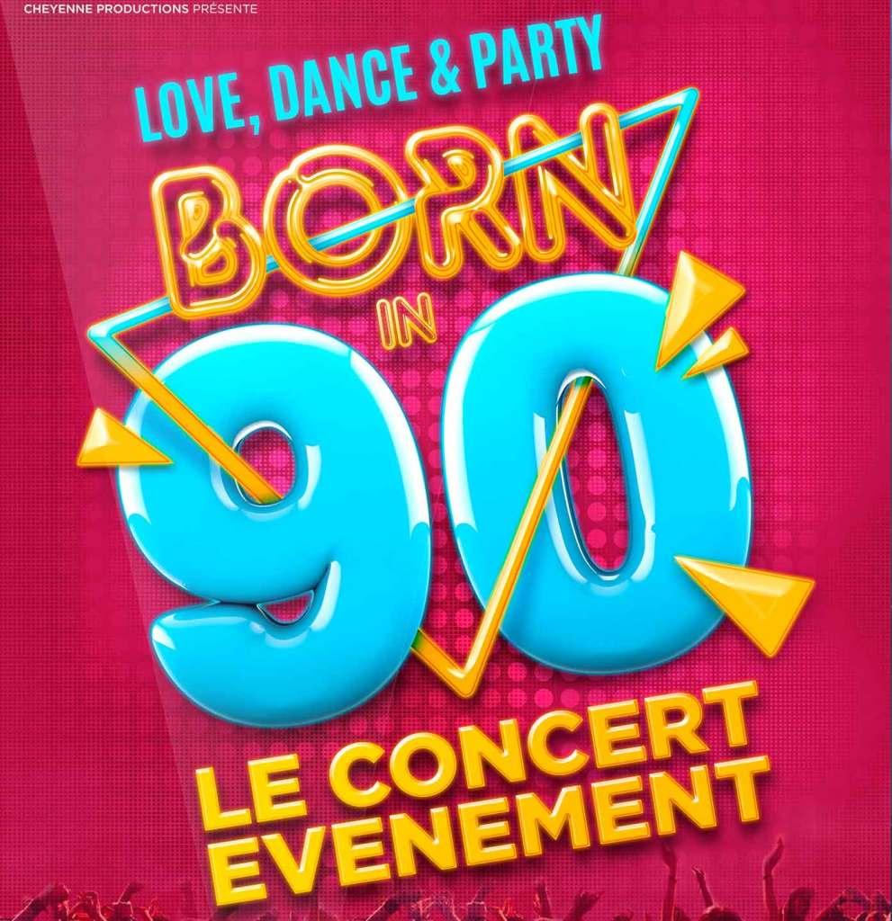 Loce, dance and party! Born in 90 le concert événement à l'AccorHotels Arena