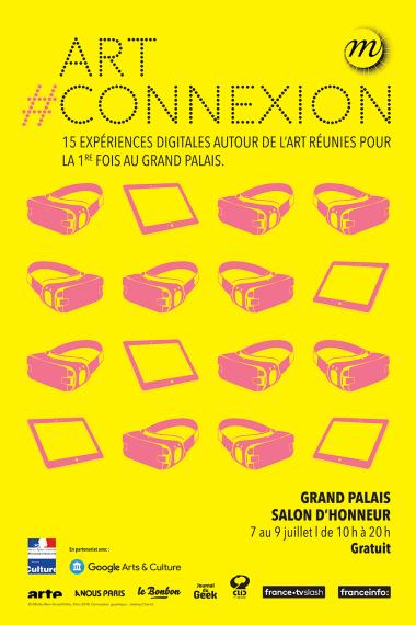 Affiche Art #Connexion au Grand Palais