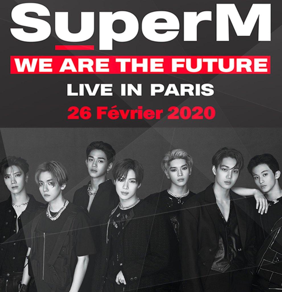 """Affiche """"we are the future"""" super M"""