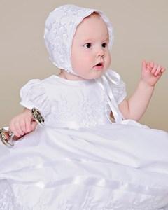 Erin Shamrock Christening Dress