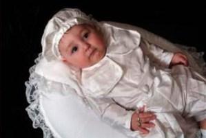 Brakkin Silk Christening Outfit