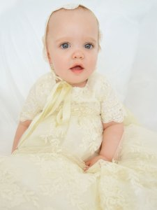 Memory Lace Christening Gown