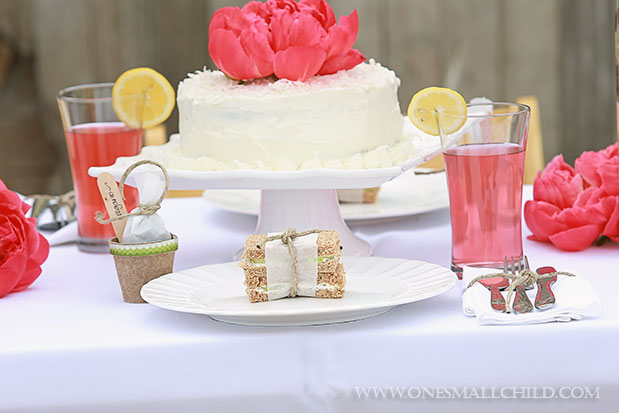 Herb Pot Favor Tutorial Christening Party Table