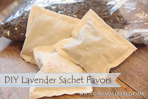 DIY Lavender Sachet Tutorial