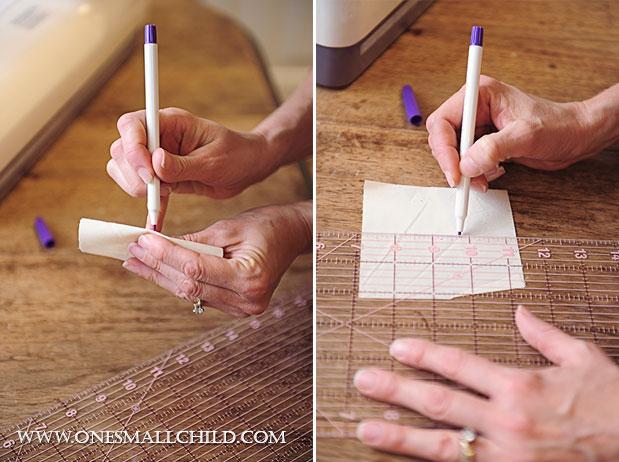 Lavender Sachet Tutorial Mark Cross Step 1