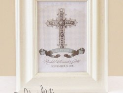Personalized Baptism Print | Christening Baptism Gifts at One Small Child