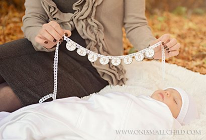 Fall Christening Portrait Ideas