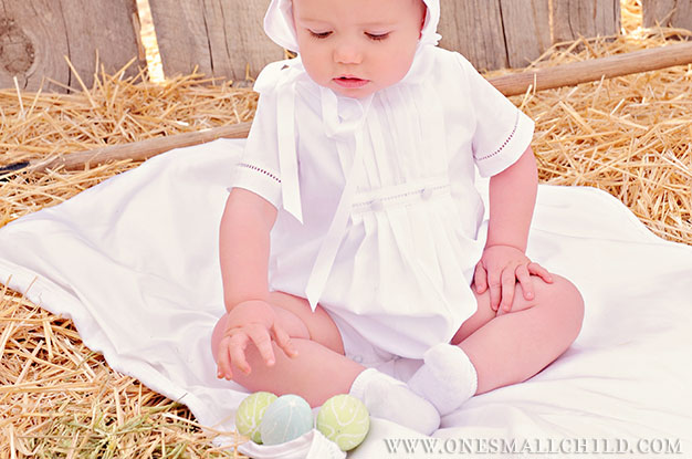 Baby's First Easter Ideas from One Small Child