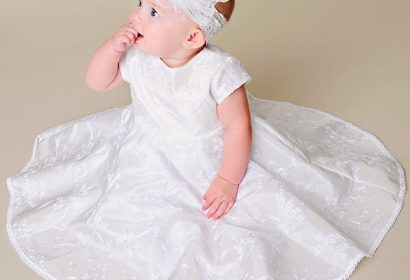 Demi circle baby dress