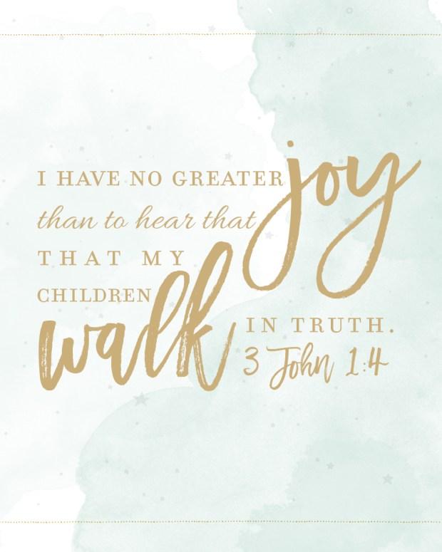 3 John 1: 4 printable