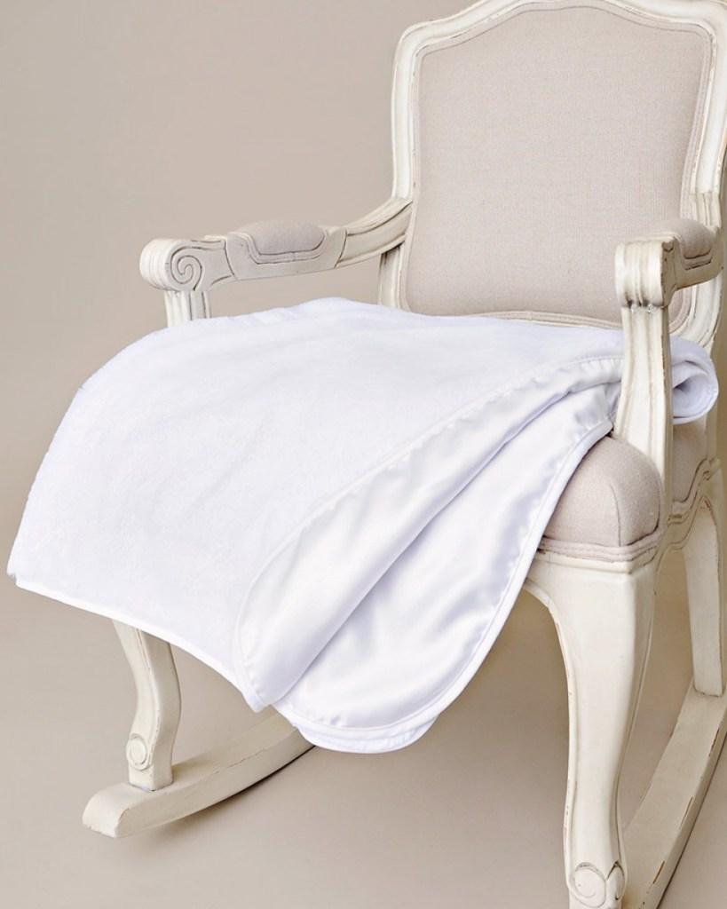 Fur Christening Blanket