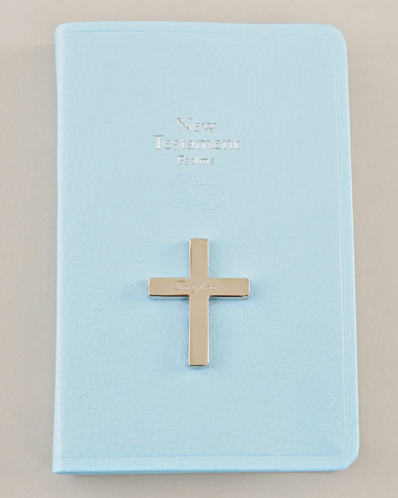 Blue Mini New Testament