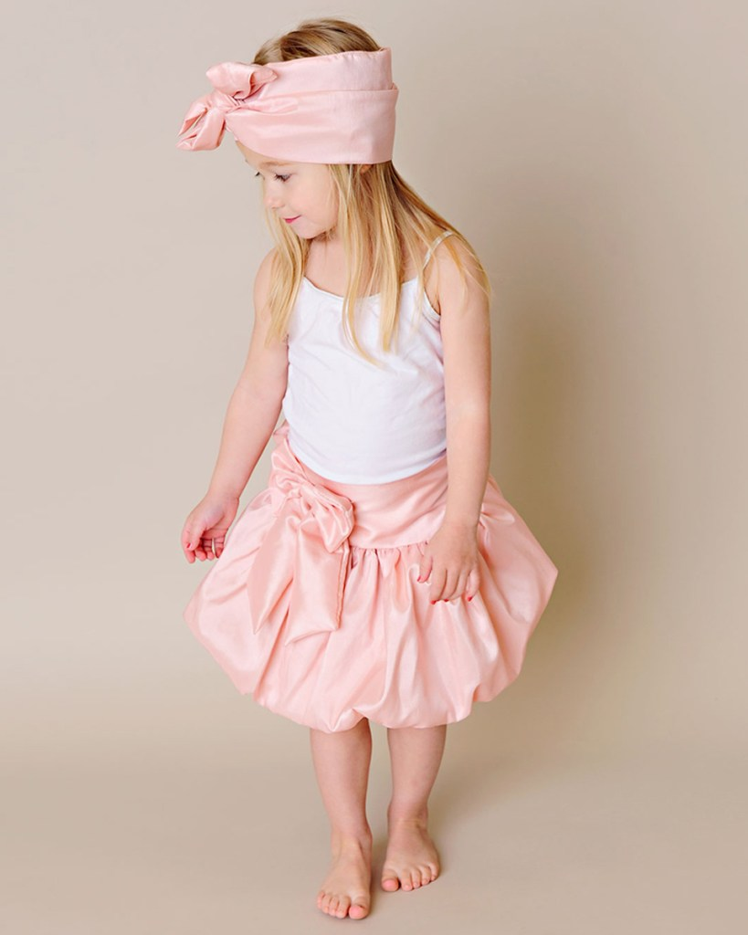 Brittney Bubble Toddler Skirt