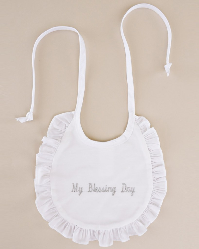 My Blessing Day Ruffle Bib