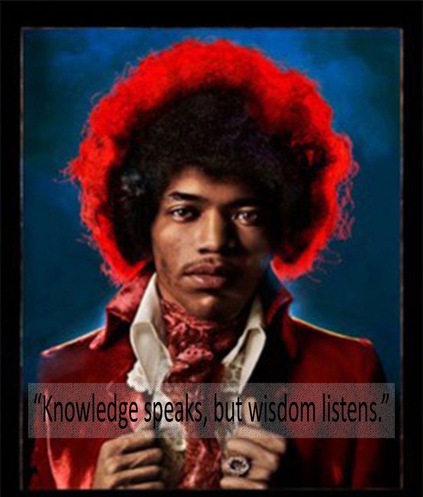Jimi Hendrix by Mike Berkofsky