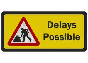 delays possible