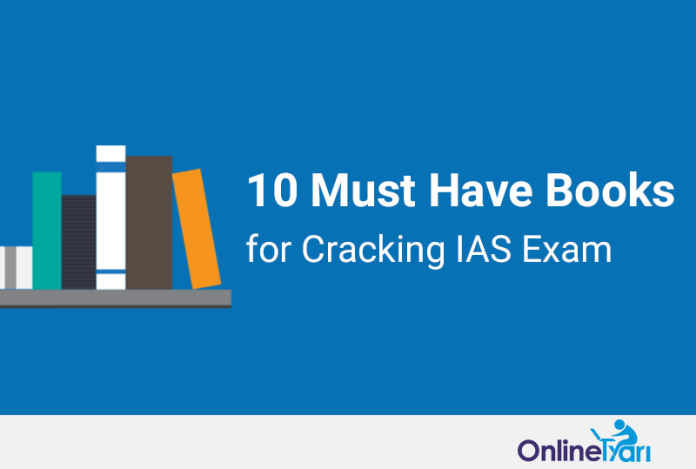 10 Must Have Books for Cracking IAS Exam in First Attempt