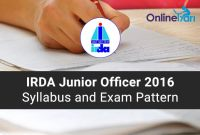IRDA-Recruitment-2016-Syllabus-Exam-Pattern