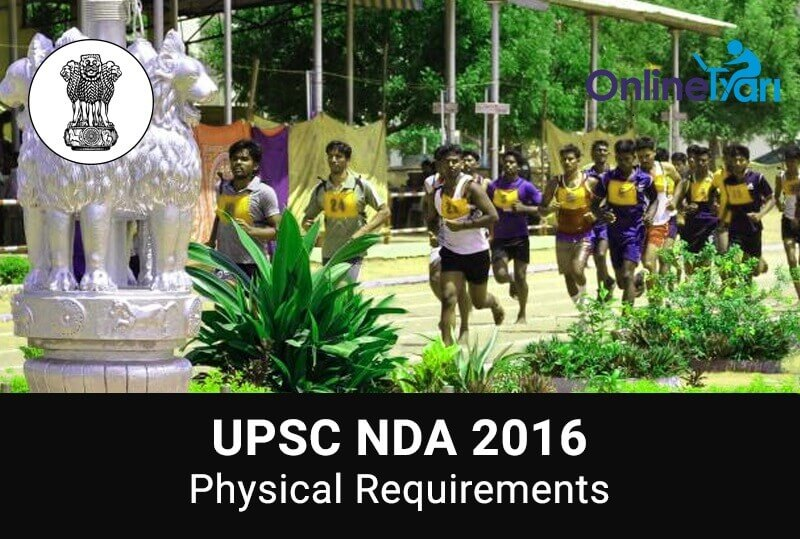 UPSC NDA Physical Standards 2016 | Height and Weight