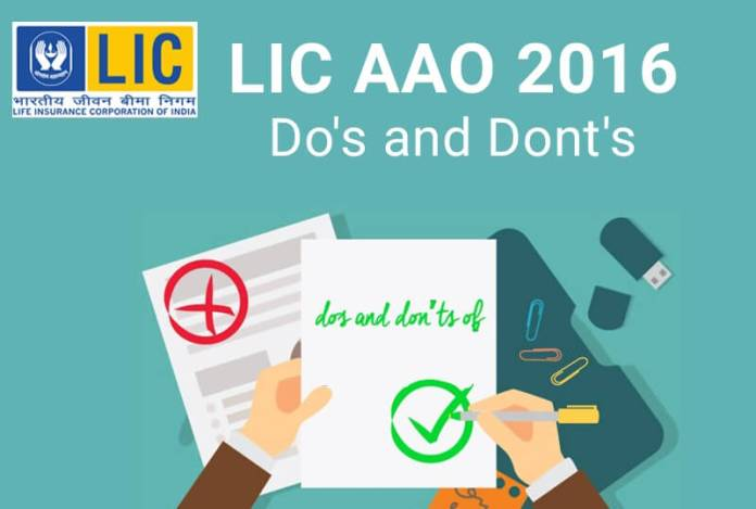 Attempt LIC AAO 2016 Exam Strategy
